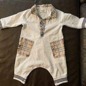 Unisex Infant Burberry onesie